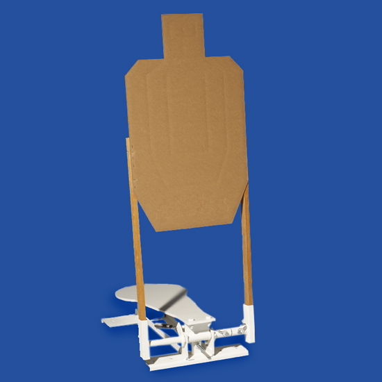 Cardboard Target Pop Up Bracket
